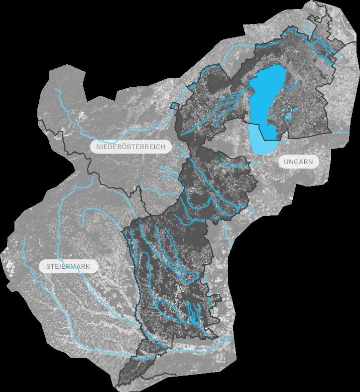 Steiermark Karte Flüsse.Die Flüsse Wasserportal Burgenland
